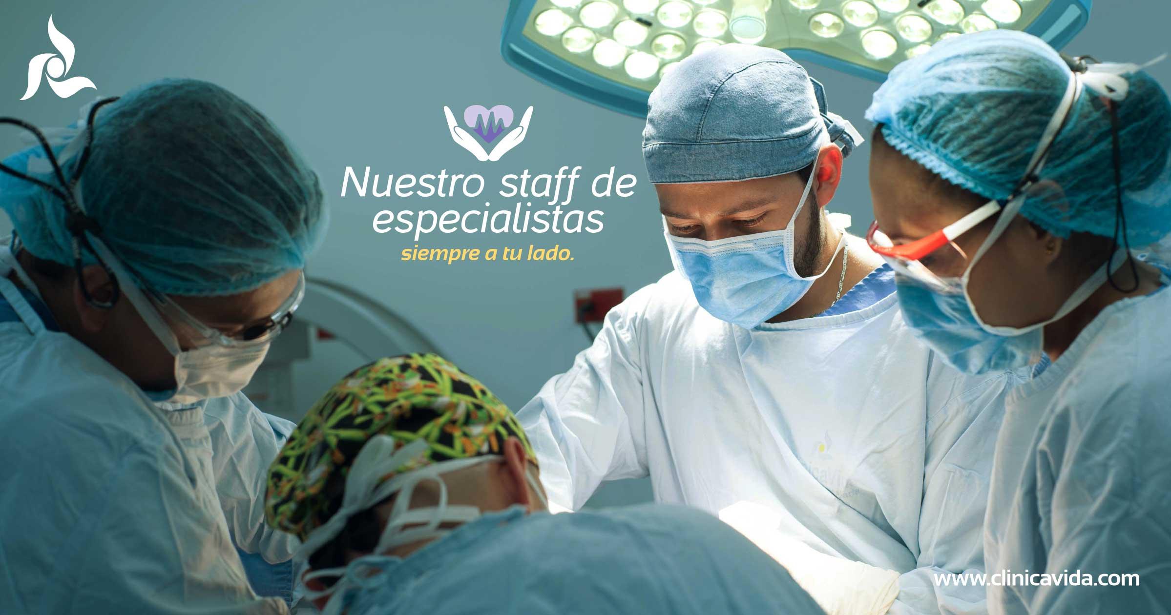 Staff Médico de Cáncer de piel para nuestros pacientes