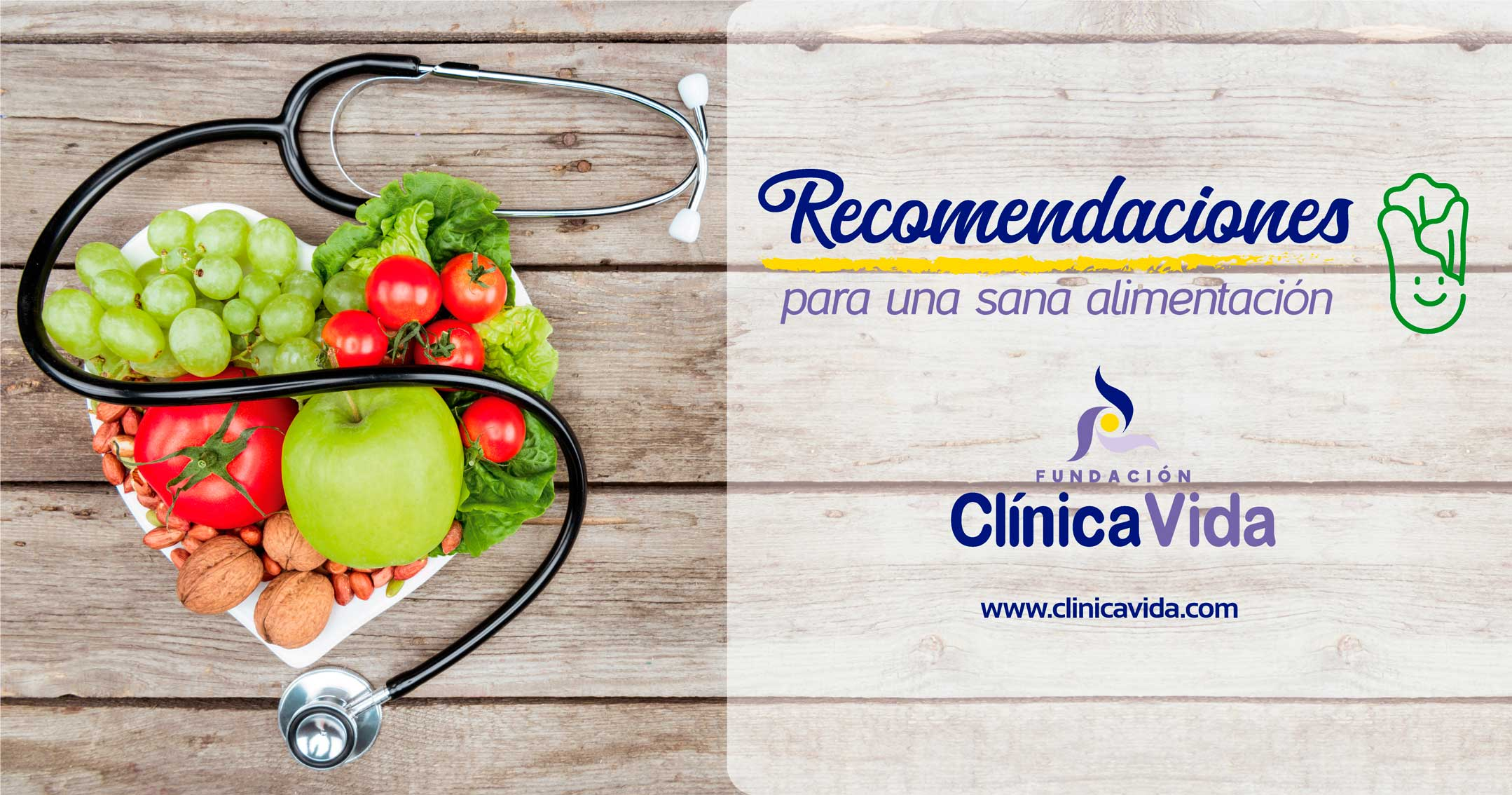 Recomendaciones para una sana alimentación